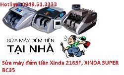Sửa máy đếm tiền Xinda 2165F, XINDA SUPER BC35 tại hà nội