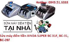 Dịch vụ sửa máy đếm tiền XINDA SUPER BC 31F, BC-31, BC-28F