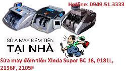 Sửa máy đếm tiền Xinda Super BC 18, 0181L, 2136F, 2105F