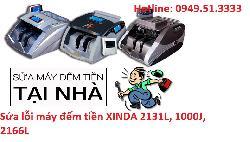 Sửa lỗi máy đếm tiền XINDA 2131L, 1000J, 2166L
