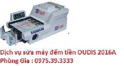 Dịch vụ sửa máy đếm tiền OUDIS 2016A uy tín hà nội