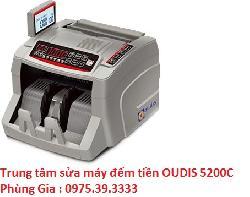 Trung tâm sửa máy đếm tiền OUDIS 5200C uy tín lấy ngay
