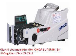 Địa chỉ sửa máy đếm tiền XINDA SUPER BC-28 uy tín