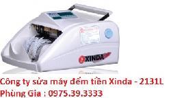 Công ty sửa máy đếm tiền Xinda - 2131L lấy ngay