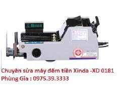 Chuyên sửa máy đếm tiền Xinda -XD 0181 hà nội