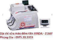 Địa chỉ sửa máy đếm tiền XINDA - 2166F uy tín