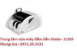 Trung tâm sửa máy đếm tiền Xinda - 2105F giá rẻ