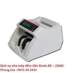Dịch vụ sửa máy đếm tiền Xinda XD – 2200C lấy ngay