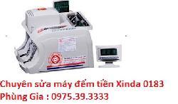Chuyên sửa máy đếm tiền Xinda 0183 hà nội