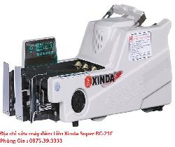 Địa chỉ sửa máy đếm tiền Xinda Super BC-21F giá rẻ