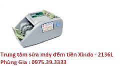 Trung tâm sửa máy đếm tiền Xinda - 2136L lấy ngay